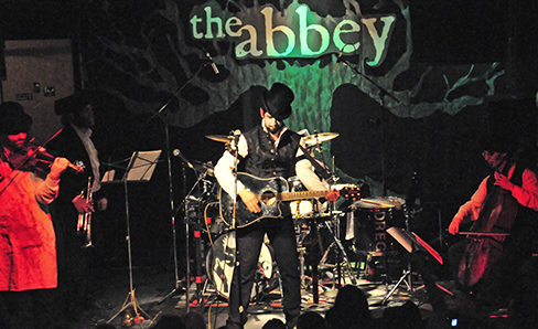 Voltaire Live @ The Abbey