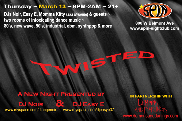 Twisted! March 13