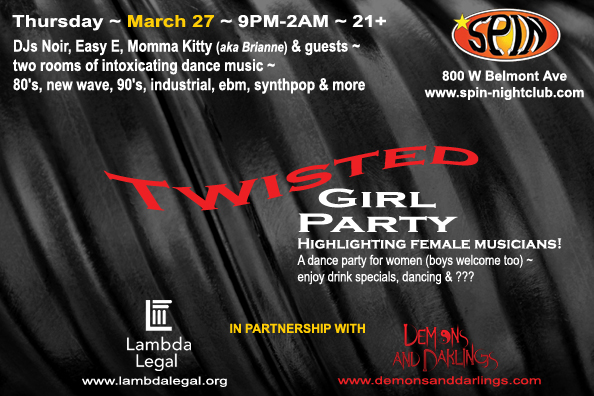 Twisted! March 27