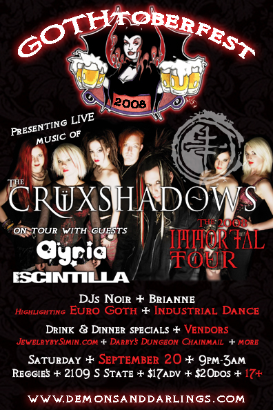 GOTHtoberfest with The Cruxshadows