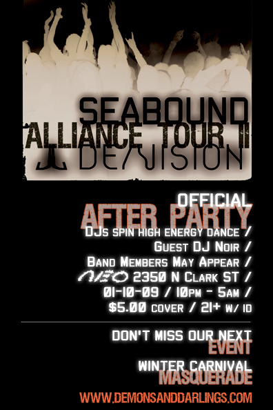De/Vision & Seabound Official After Party