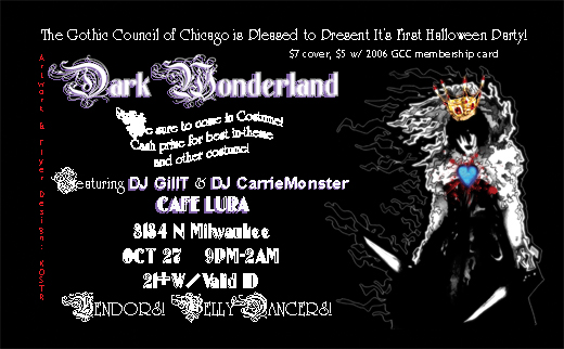 Dark Wonderland
