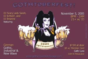 GOTHtoberfest 2005