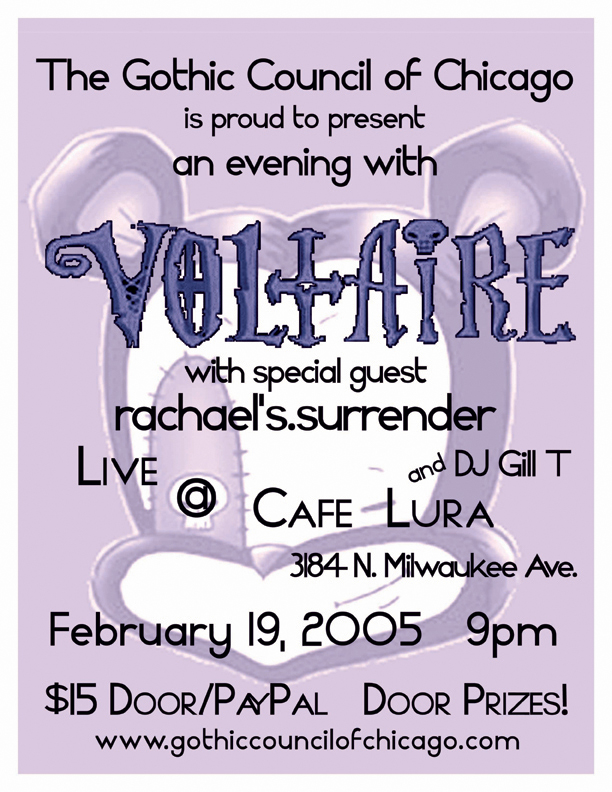 Voltaire 2005 flyer